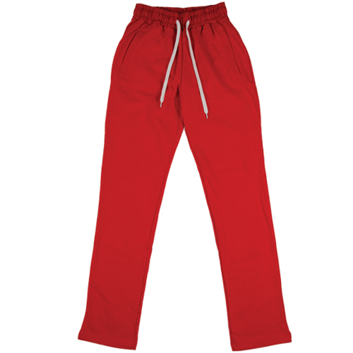[모딕토] Loose Fit Long Pants_(Red)