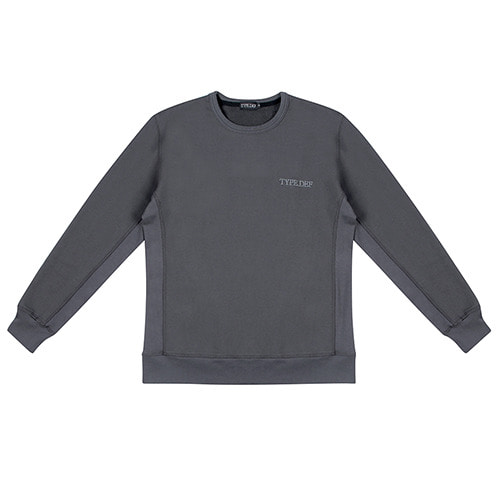 [TYPE.DEF] Over Sleeve Sweatshirt Stone