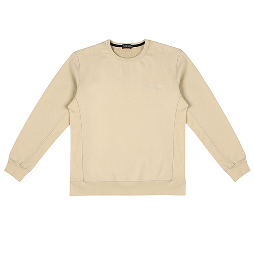 [TYPE.DEF] Over Sleeve Sweatshirt Sand