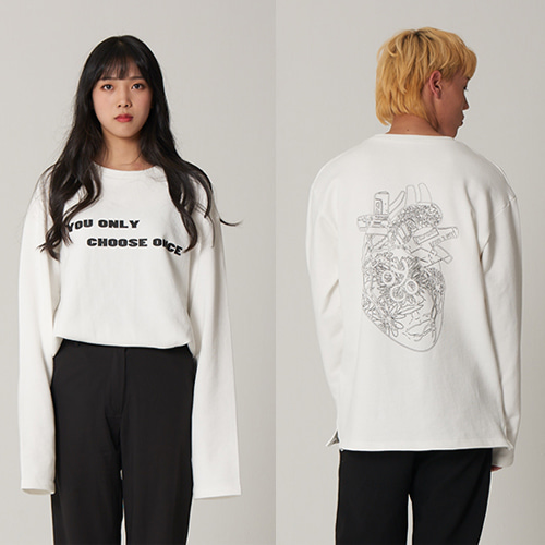 Keep In My Heart long Sleeve ivory
